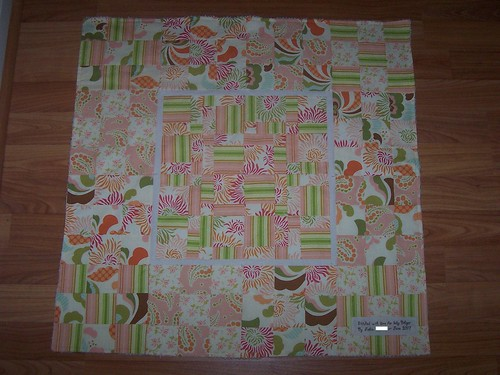Patchwork Baby Blanket (freshcut)