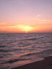 Sunset in Sanibel