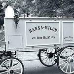 """""""Hansa-Milch""""-Kutsche"""