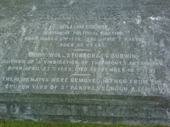William Godwin and Mary Wollstonecraft Godwin,...