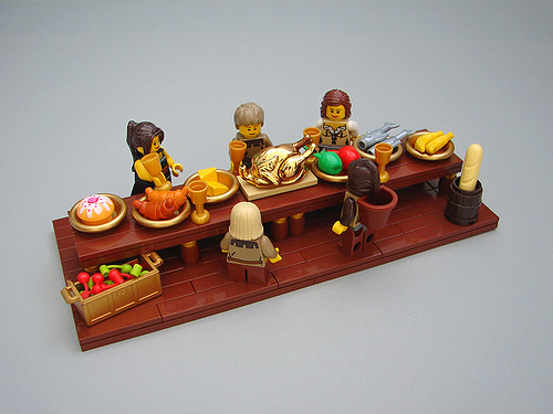 Wouldnt It Be Awesome To Have A Gold Lego Turkey The Brothers
