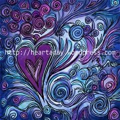 heArt #61 Purple Passion
