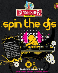 KINGFISHER Spin the DJs