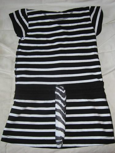 Zebra costume 3
