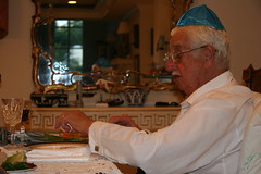 papa joe, passover, april 2005