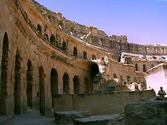 Roman Ampitheatre Ruins, Tunisia