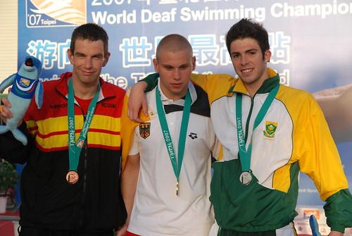 2007聽障游泳錦標賽-男�組100公尺蝶式