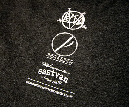 BLVD x Proper Design x Welcome To Eastvan