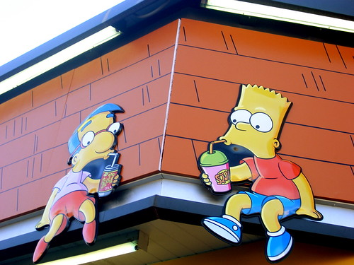 Milhouse and Bart
