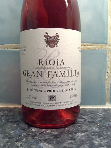 Rioja Gran Familia Rosé 2006