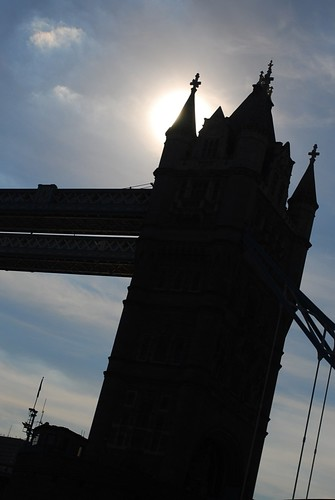 Tower Bridge Silhouette