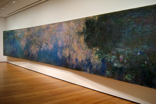 NYC - MoMA: Claude Monet's Reflections of Clouds on the Water-Lily Pond