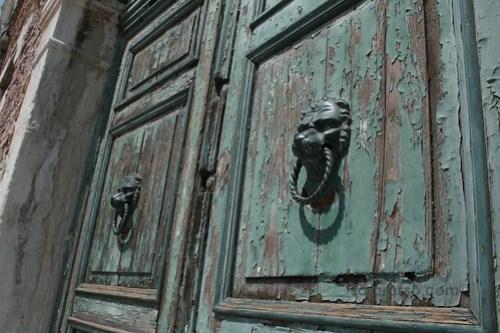 A door on Murano