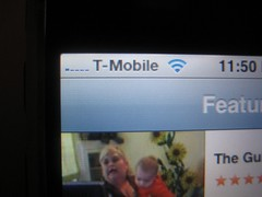 Shooby's unlocked iPhone screen