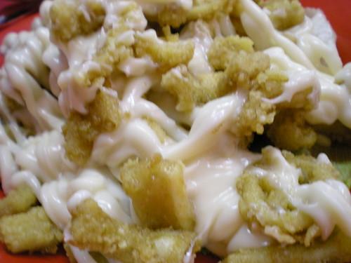 Deep fried sotong