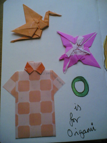 O is for origami