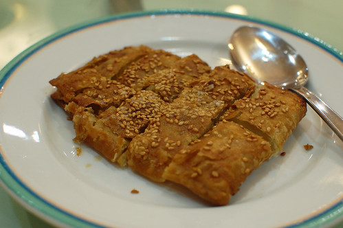 Panfried Red Bean Pancake