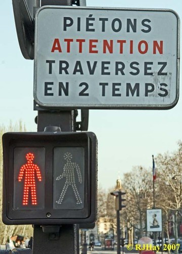 Pietons Attention