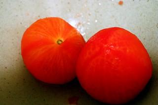 bald tomatoes