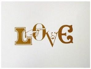 Love print Blancucha