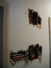 Holes in the walls