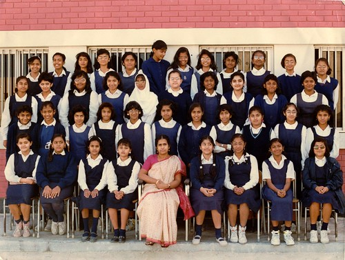 Indian School Bahrain, VIII G, 1992