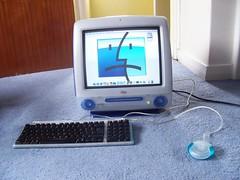Sad CRT iMac