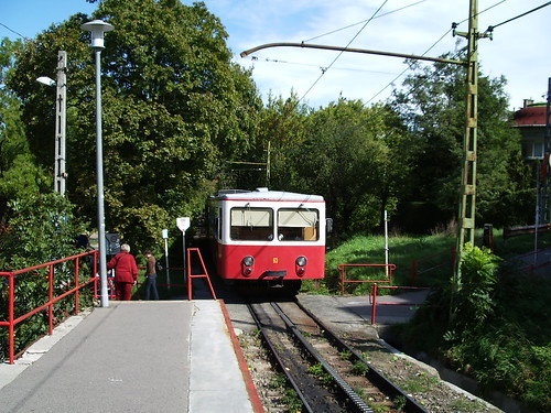 The cogwheel tram