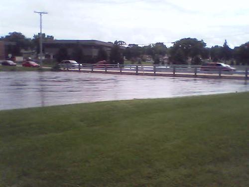 Flood Stage + 4.8 feet