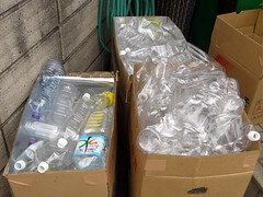 #6620 recycled plastic (PET) bottles