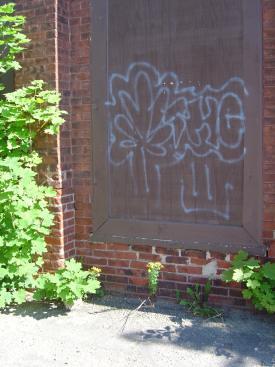 Abandoned building, Keene, NH