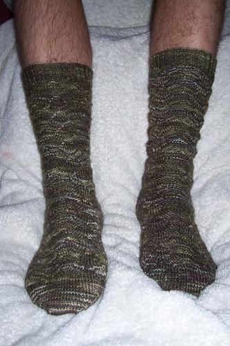 manly monkey socks