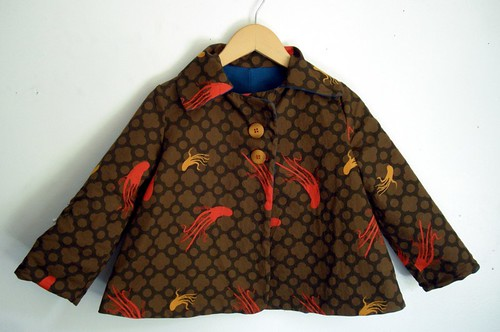 Octo Jacket - Brown Side