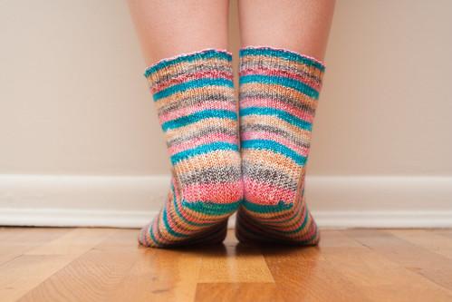 Damsel Socks (Heel)