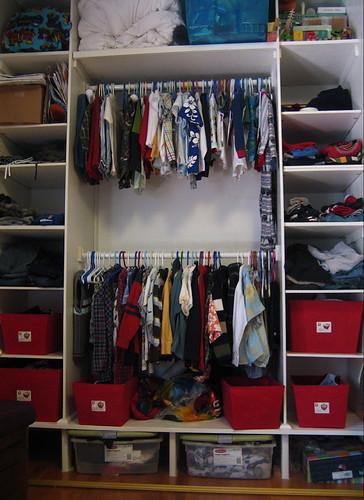 Closet Made by Dad