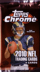 2010 Topps Chrome pack