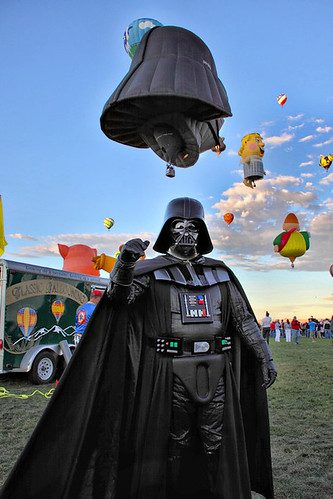 Come to the dark side Luke, we have cool balloons!