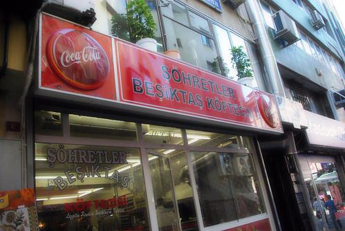 Şöhretler Köftecisi, Şöhretler meatball restaurant, Besiktas Istanbul, pentax k10d