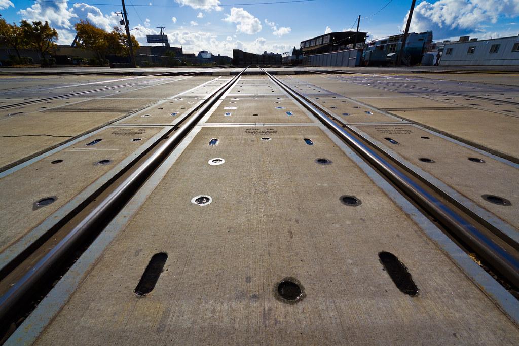 Holgate Street train tracks