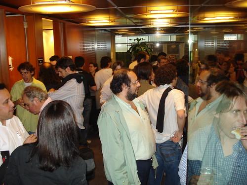 Salón principal en BarCamp Buenos Aires