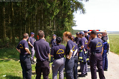 Einsatz Rettungshundestaffel in Holzhausen 07.06.07