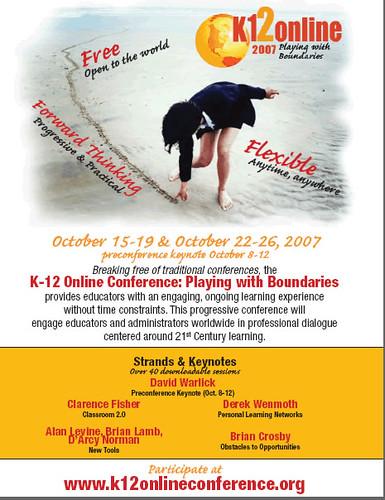 K-12 Online Conference 2007