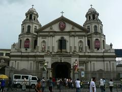 Fascade of Basilika Ng Nazareno