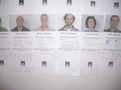 Vince Smith, Brian Berman, Paul Ginsparg, Linda Miller, John Santini