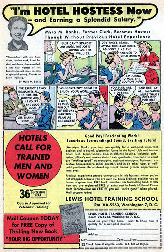 My Own Romance #20 - Hotel Hostess (Jan 1952)