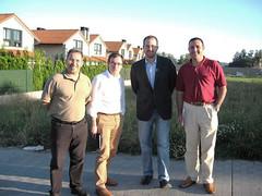 M. Noriega e R. Sisto visitan Augas Mansas