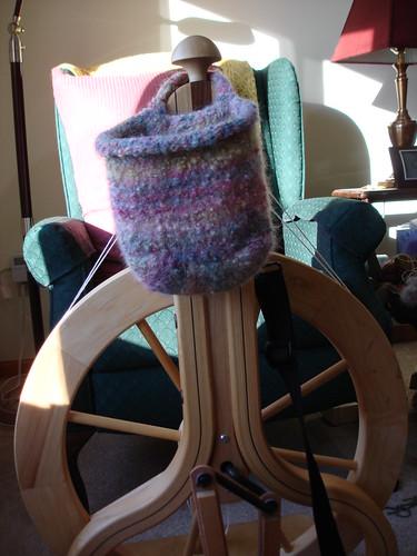 little spinning wheel bag on Schacht 1-5-2009 3-46-16 PM