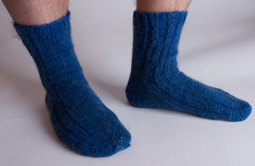 Possum Socks - Modeled