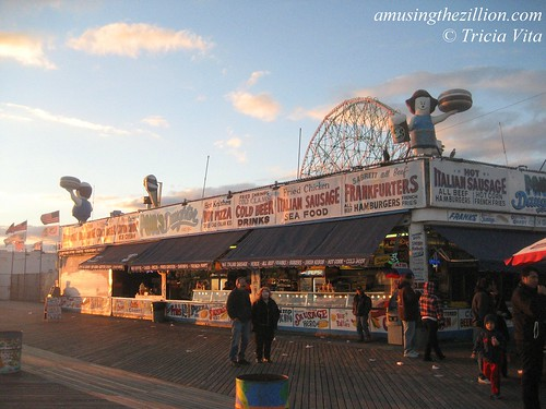 Paul's Daughter, Coney Island Boardwalk. Last day of season, Oct 31, 2010. Photo © Tricia Vita/me-myself-i via flickr