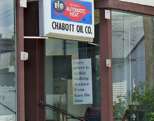 Words of wisdom from Chabott Oil
